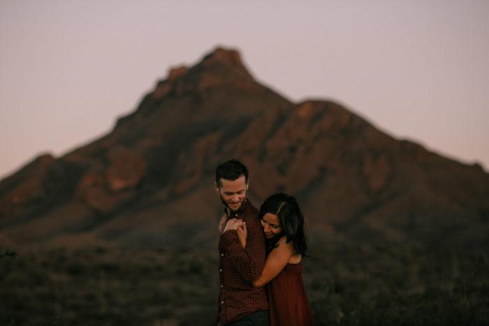 Love at Big Bend National Park | Maxine & Drew