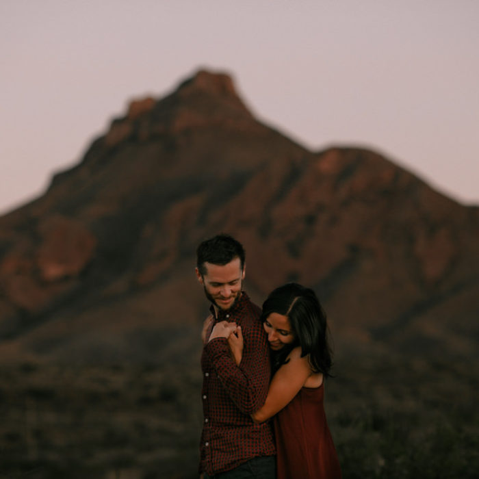 Love at Big Bend National Park | Maxine & Drew