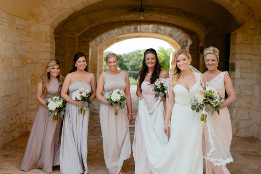 Wedding at Lady Bird Johnson Wildflower Center in Austin, TX | Kira & Shane