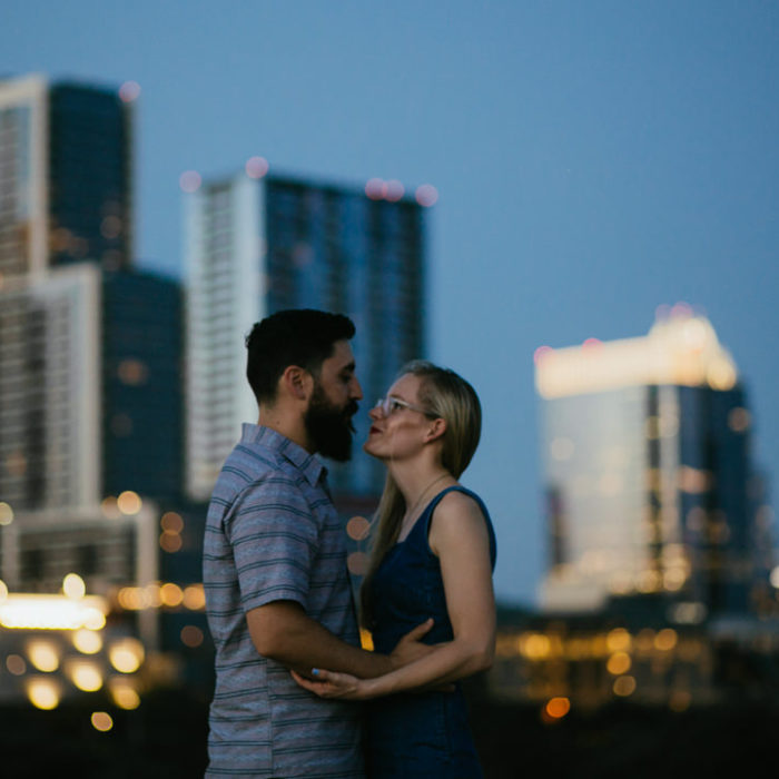 East Austin Engagement in Austin, TX | Taylor & Matt