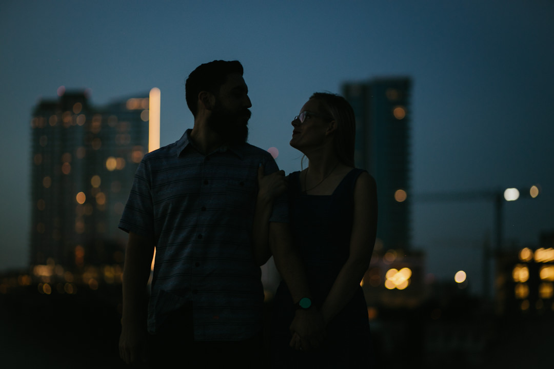 rob august photography east austin engagement skyline violet crown 0030