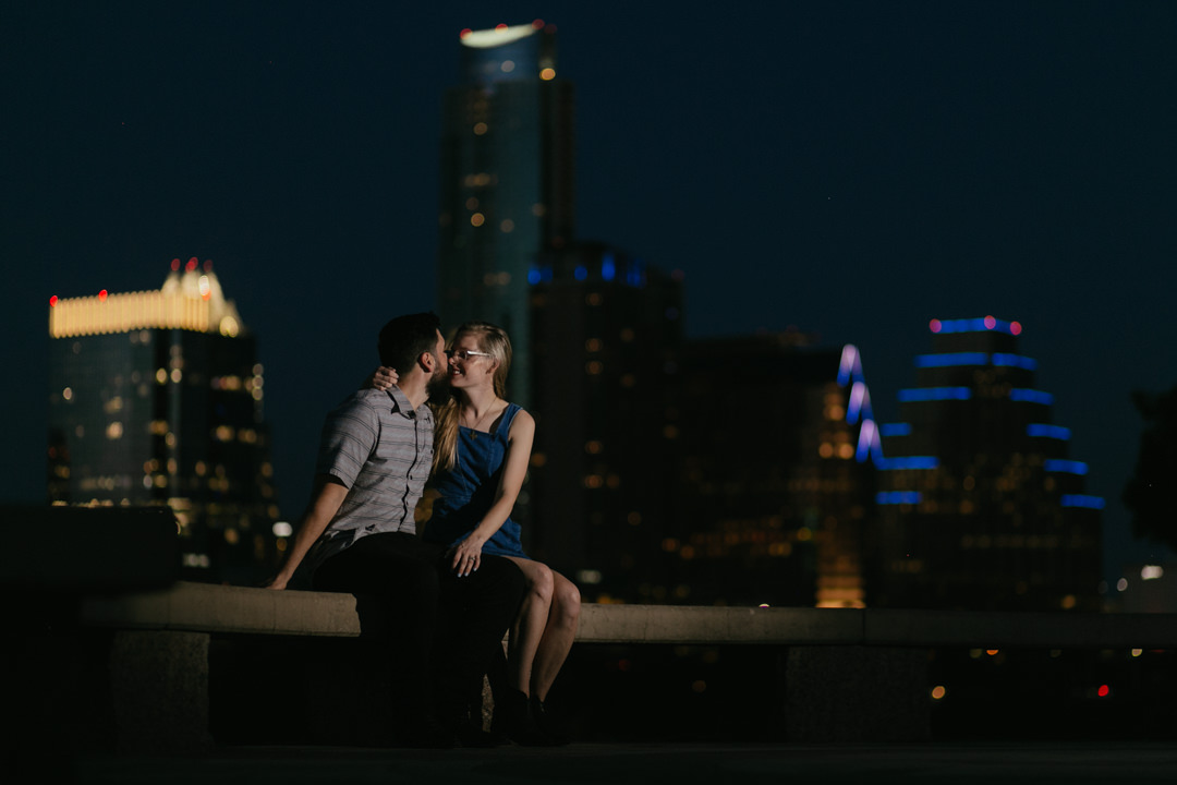 rob august photography east austin engagement skyline violet crown 0031