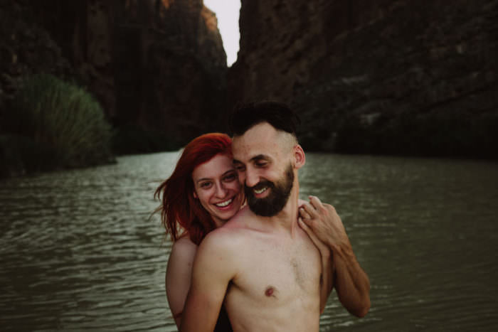 Rio Grande Love at Big Bend National Park | Bekim & Alexa