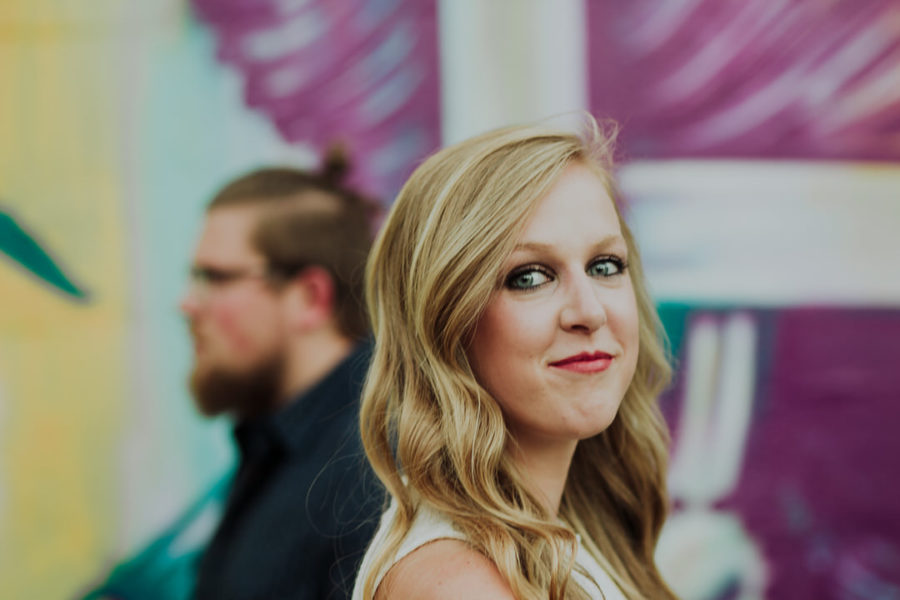 Spider House Cafe Engagement Session in Austin, TX | Erin & Trevor