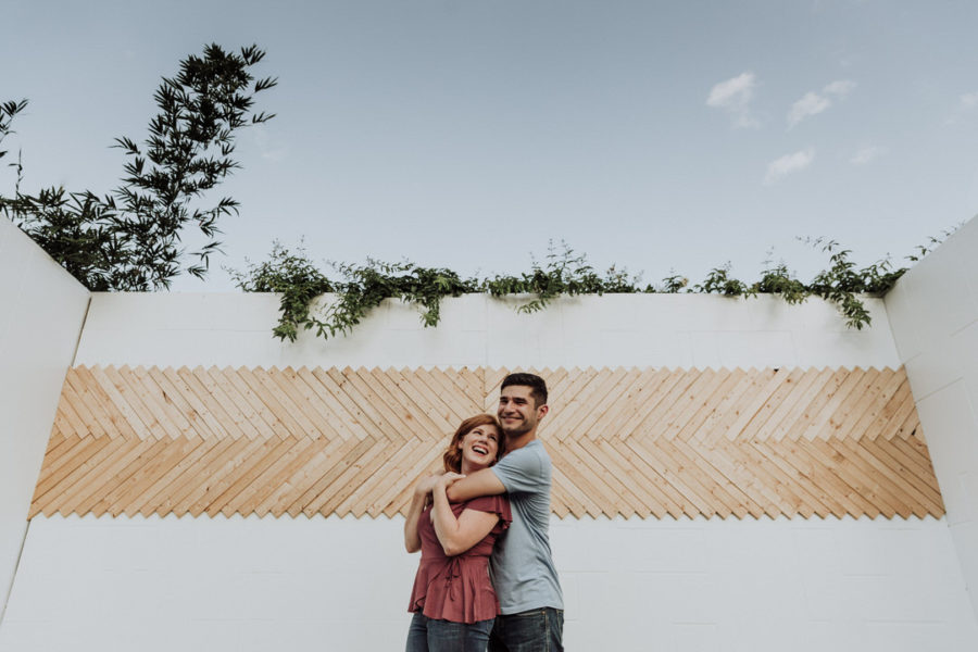 Cenote & Greenbelt Engagement Session in Austin, TX | Elise & Tal