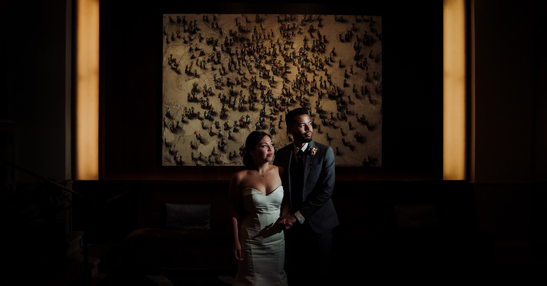 post wedding portrait