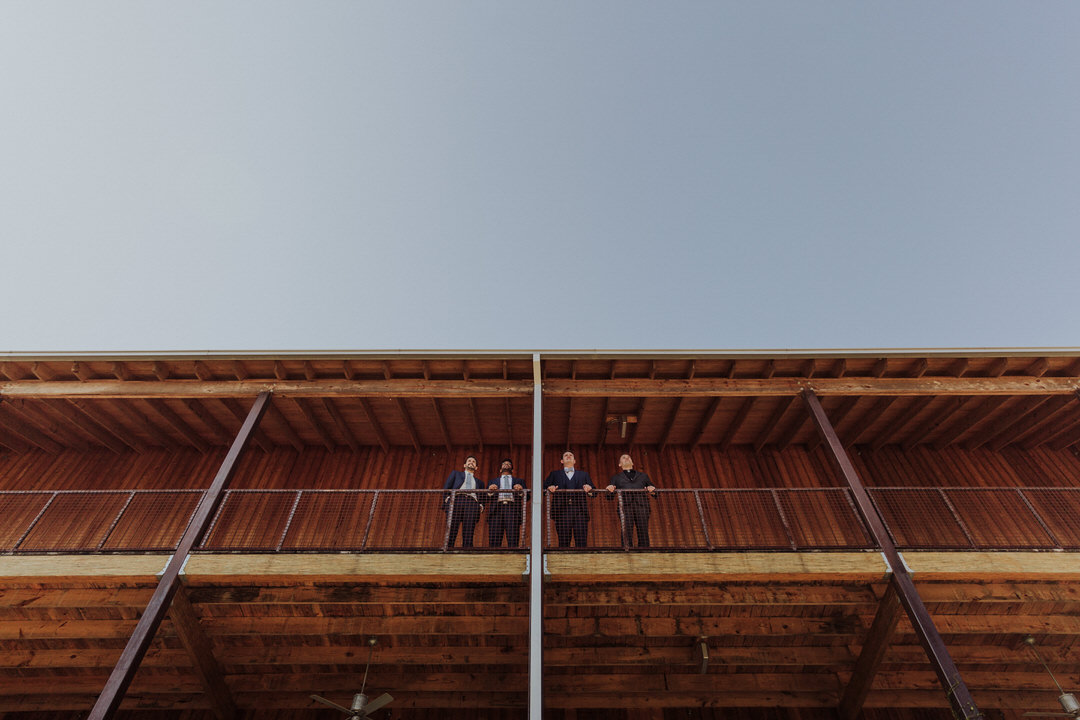 epic photo of groomsmen