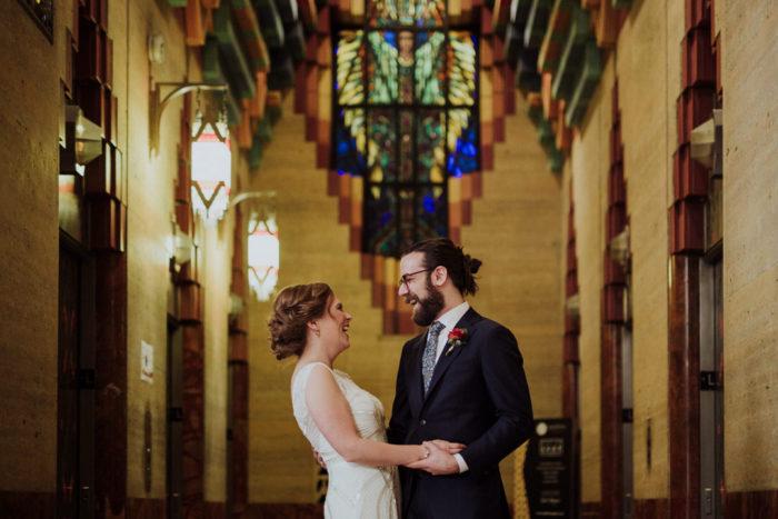 Wedding at the Gem Theatre in Detroit, MI | Sarah & Kevin