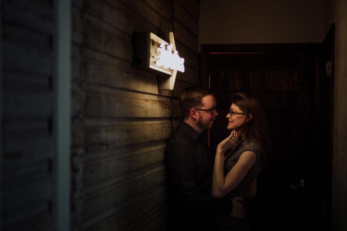 Justine's Secret House Engagement in Austin, TX | Jessica & Jacob